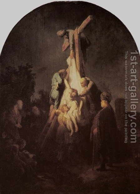 Descent from the Cross by Harmenszoon van Rijn Rembrandt - Reproduction Oil Painting