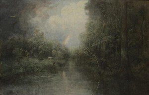 George Inness Jnr. reproductions - Rainbow