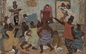 Famous paintings of Black Art: Candombe