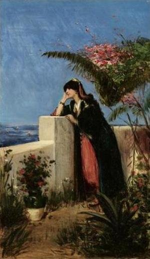 Young Woman on the Terrace (Reverie sur la terrasse)