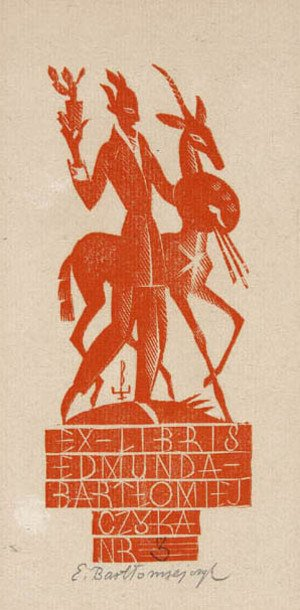Famous paintings of Antelope: Ex Libris