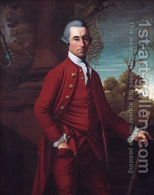Portrait of a Gentleman I by Henry Benbridge - Reproduction Oil Painting