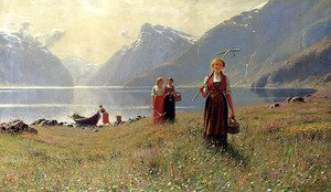 Famous paintings of Summer: A Summer's Day