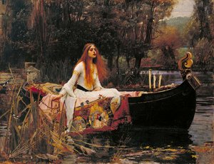 Reproduction oil paintings - Waterhouse - The Lady of Shalott III