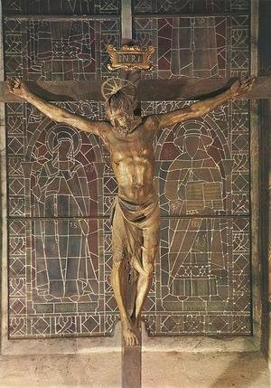 Reproduction oil paintings - Donatello - Crucifix