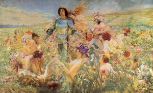 The Knight of the Flowers (or Parsifal)