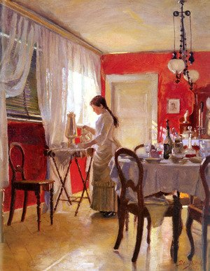 Famous paintings of Furniture: The Dining Room