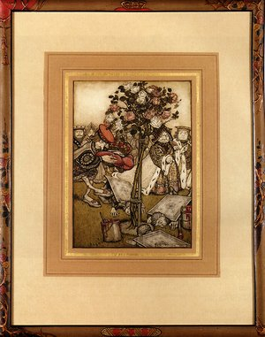 Reproduction oil paintings - Arthur Rackham - Alice In Wonderland: The Jack Of Hearts