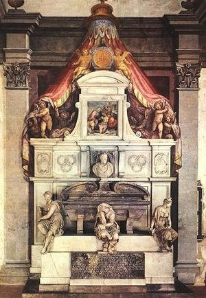 Reproduction oil paintings - Giorgio Vasari - Monument to Michelangelo
