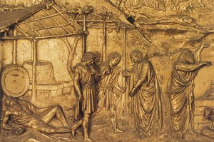 Reproduction oil paintings - Lorenzo Ghiberti - The Drunkennes of Noah