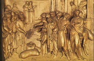 Reproduction oil paintings - Lorenzo Ghiberti - The Story of Joseph: Discovery of the Golden Cup