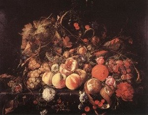 Reproduction oil paintings - Jan Davidsz. De Heem - Still-life II