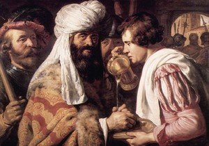 Reproduction oil paintings - Jan Lievens - Pilate Washing his Hands I