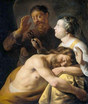 Reproduction oil paintings - Jan Lievens - Samson and Delilah I