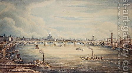 From Hungerford Pier, 1837
