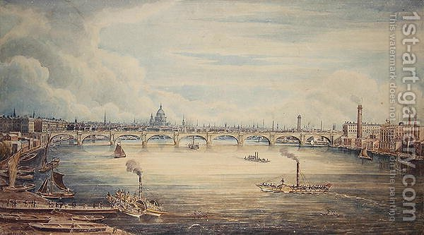 Huge version of From Hungerford Pier, 1837
