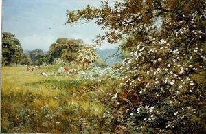 Famous paintings of Summer: A Summer Hedgerow, 1895