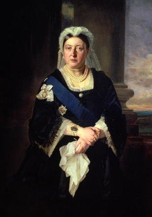 Expressionism painting reproductions: Queen Victoria (1819-1901) after Baron Heinrich von Angeli (1840-1925)