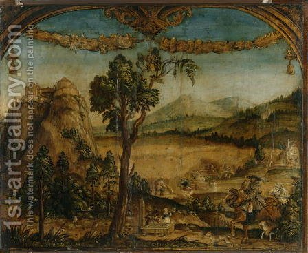 The Month of July, c.1525-26 by Hans Wertinger - Reproduction Oil Painting