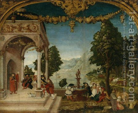 The Month of May, c.1525-26 by Hans Wertinger - Reproduction Oil Painting