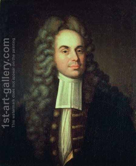 Andrew Hamilton (c.1676-1741) 1808 by Adolph Ulrich Wertmuller - Reproduction Oil Painting