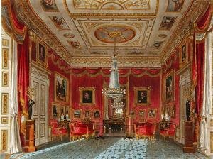 Reproduction oil paintings - Charles Wild - The Rose Satin Drawing Room, Carlton House, from The History of the Royal Residences, engraved by Daniel Havell (1785-1826), by William Henry Pyne (1769-1843), 1819
