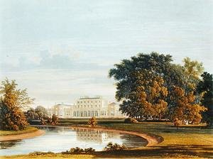 Reproduction oil paintings - Charles Wild - Frogmore, from The History of the Royal Residences, engraved by William James Bennett (1787-1844), by William Henry Pyne (1769-1843), 1819