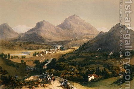 Hernani, 1838 by Henry Wilkinson - Reproduction Oil Painting
