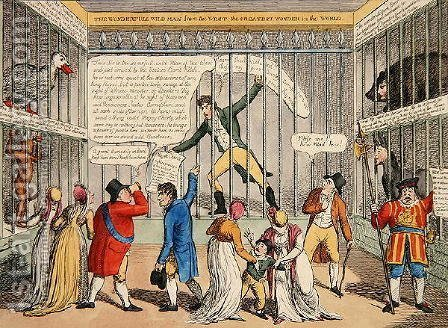 A New Cure for Jackobinism or a Peep in the Tower, 1810