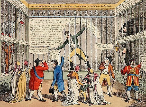 Huge version of A New Cure for Jackobinism or a Peep in the Tower, 1810