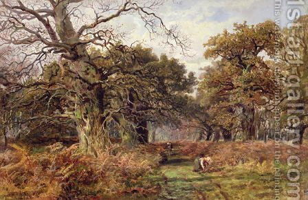 Sherwood Forest by J. Hudson Willis - Reproduction Oil Painting