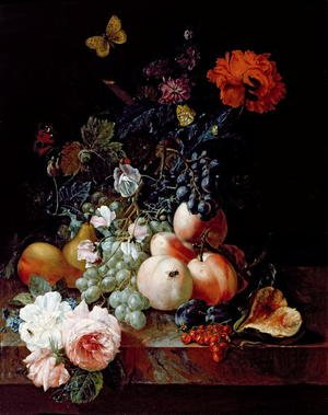 Romanticism painting reproductions: Still Life