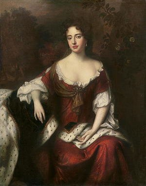 Portrait of Anne, Queen of Great Britain and Ireland (1665-1714), daughter of James II