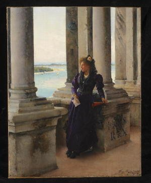 Reproduction oil paintings - Henry Woods - In the Belfry of the Campanile of St. Marks, Venice, 1892