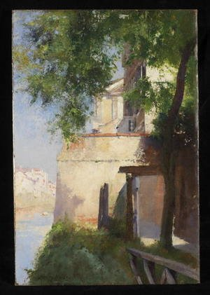 Reproduction oil paintings - Henry Woods - A View of Venice from a Terrac