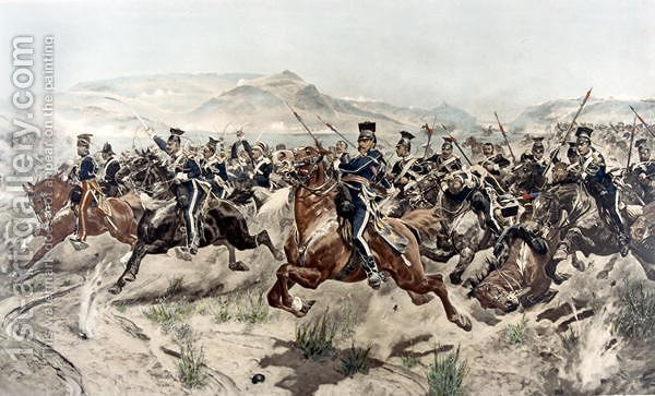 Huge version of The Charge of the Light Brigade, 1895