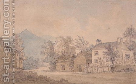 Dora Wordsworth: Dove Cottage, Grasmere, c.1806 - reproduction oil painting