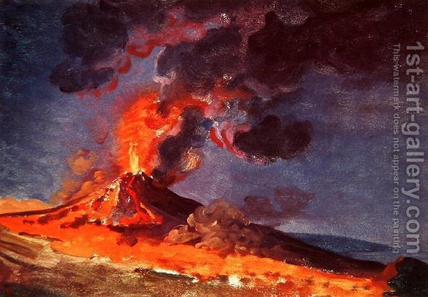 Huge version of The Eruption of Vesuvius