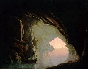 Image result for dark grotto in renaissance painting