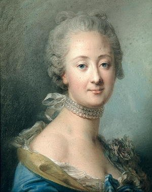 Rococo painting reproductions: Adelaide de France (1732-1800)