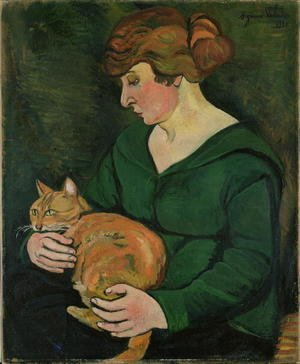 Reproduction oil paintings - Suzanne Valadon - Louison et Raminou, 1920