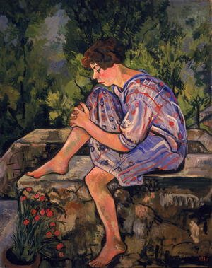 Reproduction oil paintings - Suzanne Valadon - Seated Young Woman, 1930