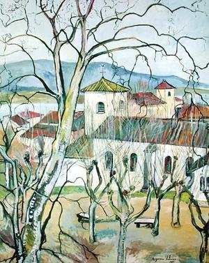 Reproduction oil paintings - Suzanne Valadon - The Village of Saint-Bernard, Ain, 1929