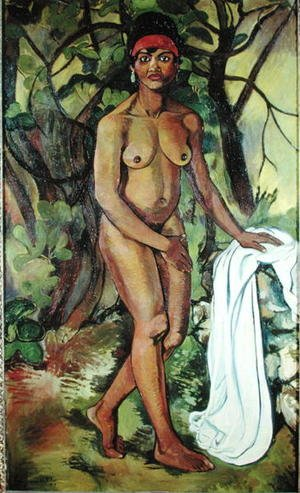 Reproduction oil paintings - Suzanne Valadon - Nude Negress, 1919