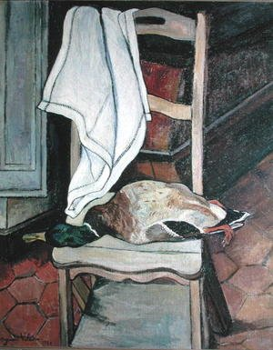 Reproduction oil paintings - Suzanne Valadon - The Duck, 1930