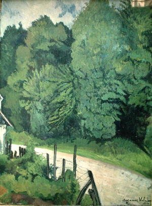 Reproduction oil paintings - Suzanne Valadon - Road in the Forest, 1914