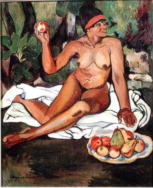 Reproduction oil paintings - Suzanne Valadon - Young Half-Caste Woman