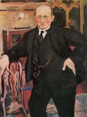 Reproduction oil paintings - Suzanne Valadon - Portrait of Monsieur Mori, 1922