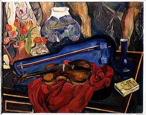 Suzanne Valadon reproductions - The Violin Case, 1923