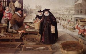 Famous paintings of Fish and Seafood: Winter, 1595